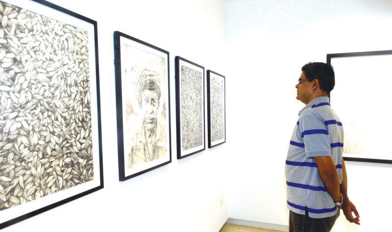 Satish Menon at White Hall gallery