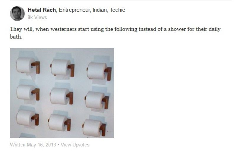 Indians Asked If They Would Ever Use Toilet Paper And Answers Are Hilarious