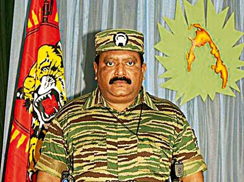 Velupillai Prabhakaran, the LTTE leader who ordered the assassination of Rajiv Gandhi, and who was killed by Sri Lankan forces in March 2009.