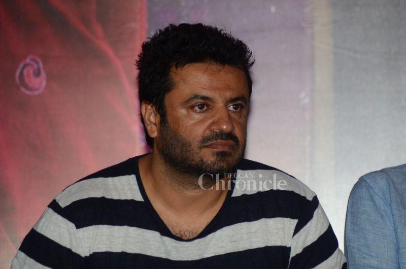 Vikas Bahl at the 'Udta Punjab' press conference.