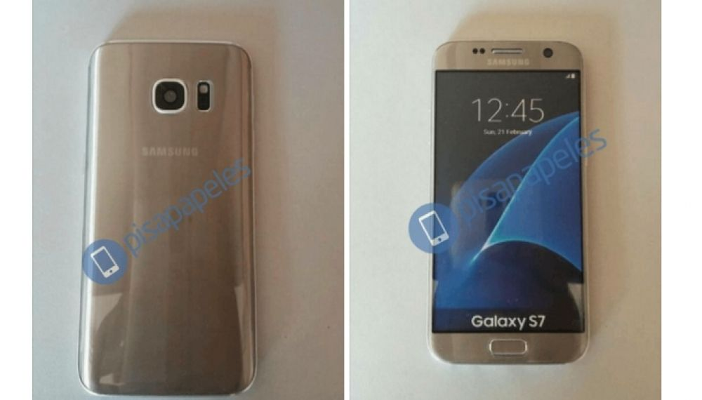 Leaked Images Of Gold Color Samsung Galaxy S7 Spotted