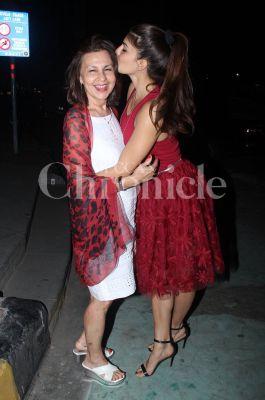 Jacqueline Fernandez and Alia Bhatt caught off guard