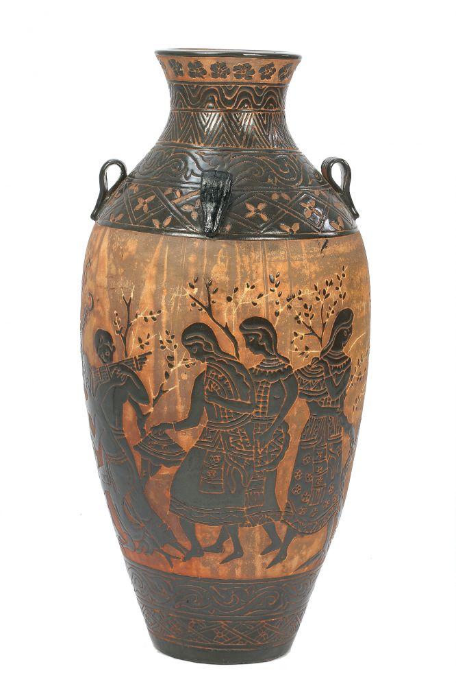 hand craft vase