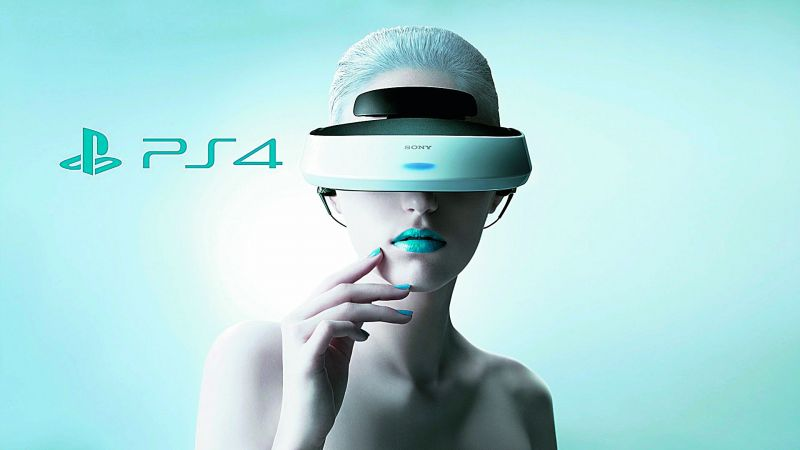 Sony has announced its own VR headset which will  work with the PlayStation 4 console but the product is  not expected until October