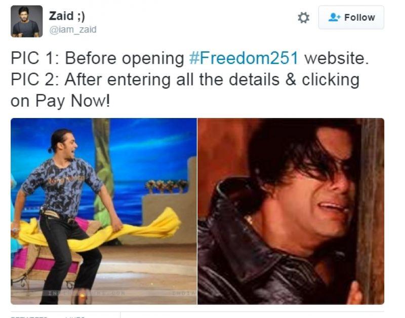 Freedom 251 meme