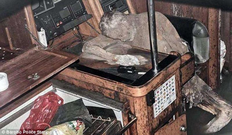 Mummified body of 59-year-old German adventurer Manfred Fritz Bajorat. (Photo: Facebook)